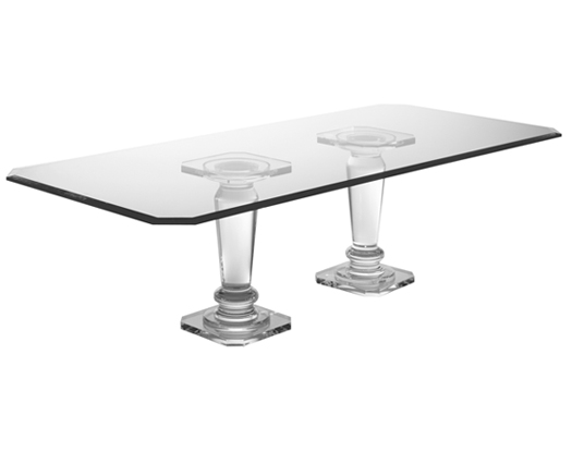 Pair of Balluster Dining Bases - Dining Tables - Spectrum Collection