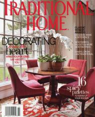 Traditional Home November 2010 Cover - Spectrum Collection