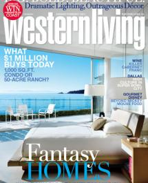 Western Living - January - February 2011 Cover - Spectrum Collection